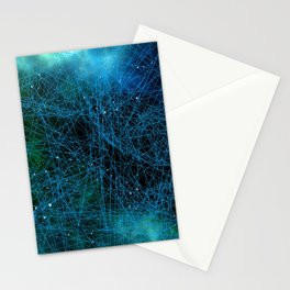 System Network Connection Stationery Cards