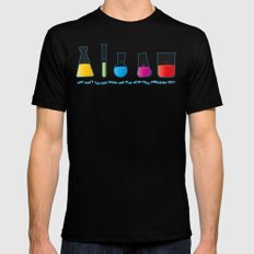 Play with your chemistry set Black MEDIUM Mens Fitted Tee