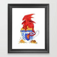 Dragon Tea Framed Art Print