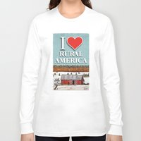 john snow Long Sleeve T-shirts featuring First Snow by John Wisker