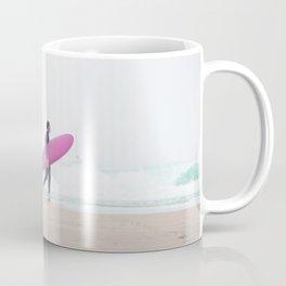 surfing beach vibes Coffee Mug