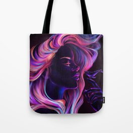 Blacklight Babe Tote Bag