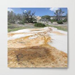 Canary Hot Springs Metal Print