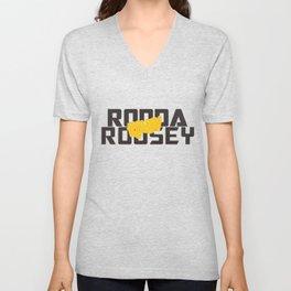 Ronda Rousey Rowdy Unisex V-Neck