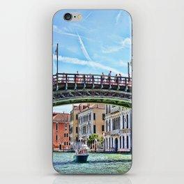 Ponte dell' Accademia Bridge In Venice, Italy iPhone Skin
