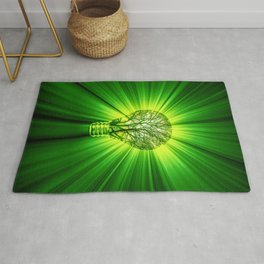 Think Green Rug