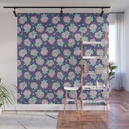 Blush Bloom Peony Lavender Wall Mural