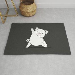 Yoga Dog VI Rug