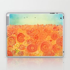 Sunflower Field -- Abstract Painterly FX Laptop & iPad Skin