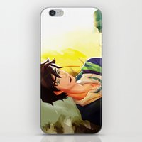 percy jackson iPhone & iPod Skins featuring Percy Jackson in Hogwarts by TreyCain03