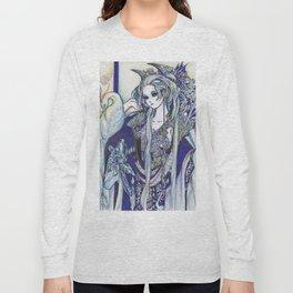 Madame Blue Long Sleeve T-shirt