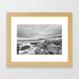 The Old Pier Framed Art Print