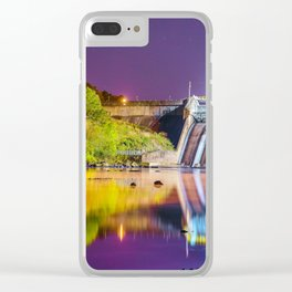 DAM THE COLOR Clear iPhone Case