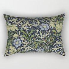 William Morris Seaweed Pattern Rectangular Pillow