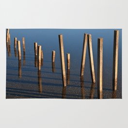 Walking Water Stilts Rug