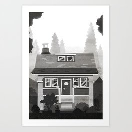 Places I've Lived Series - 4 Art Print