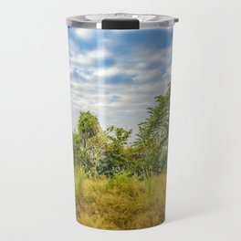 Meadow Tropical Landscape Scene, Guayaquil, Ecuador Travel Mug