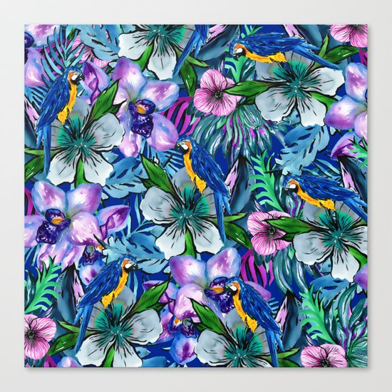 My Tropical Garden 5 Canvas Print