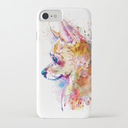 Watercolor Chihuahua iPhone Case