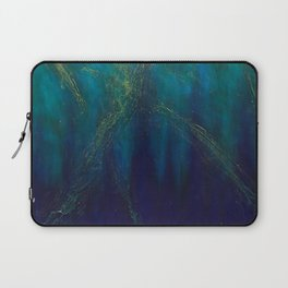 Lightning Strikes the Sea Laptop Sleeve