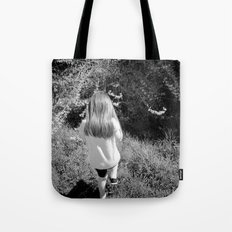 Pickin' Flowers In The Sun Tote Bag