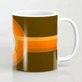 Golden Sunspot Coffee Mug