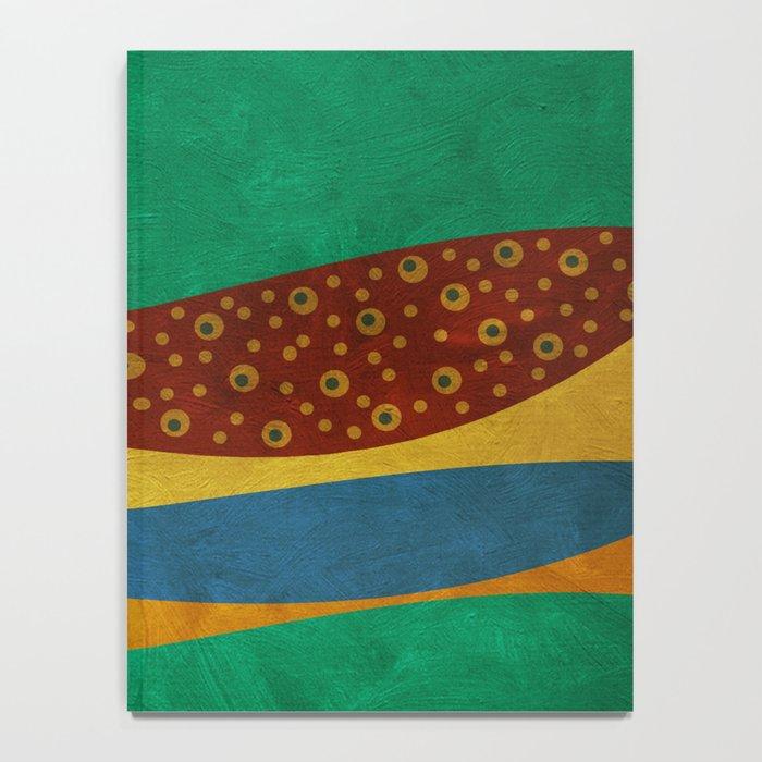 color under the sun (III) Notebook