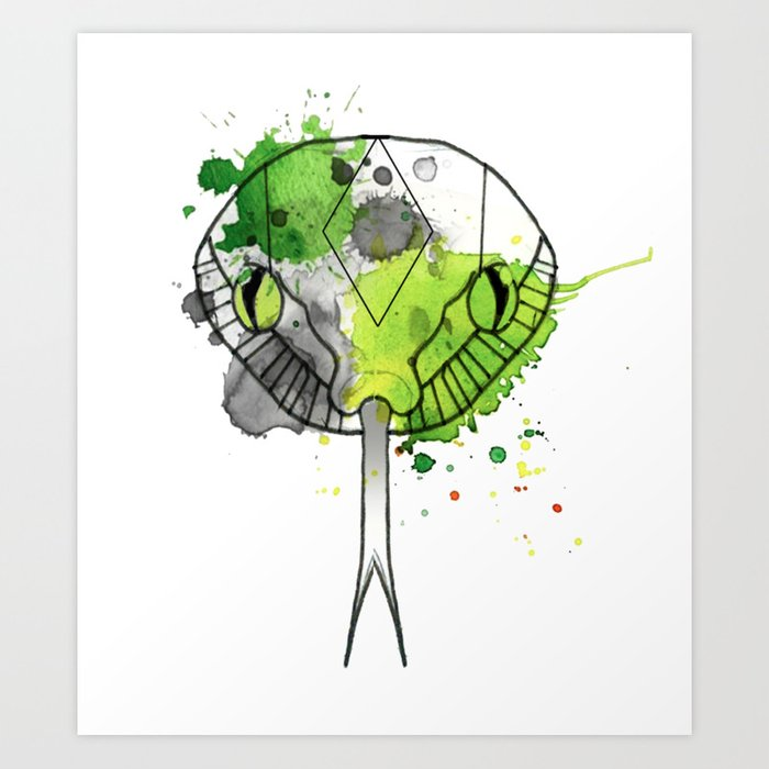 Slytherin Art Print