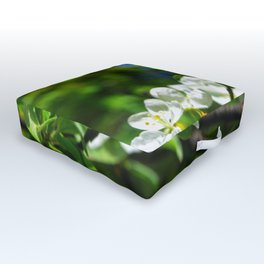 Apple blossom Outdoor Floor Cushion