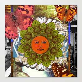 Energy Of The Sun Canvas Print