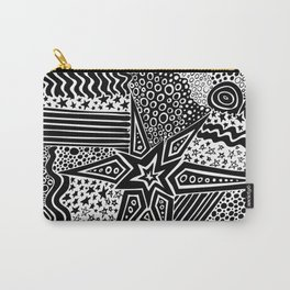 Spiky Star Carry-All Pouch