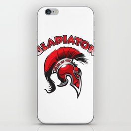 Gladiator helmet iPhone Skin