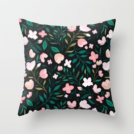 Wild Jasmine Throw Pillow