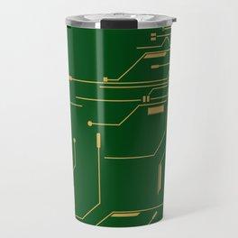Gold Broken IC Travel Mug