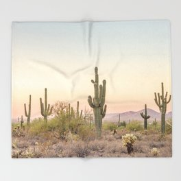 Arizona Desert Throw Blanket