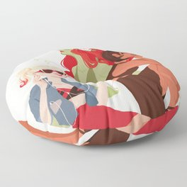 Sirens Floor Pillow