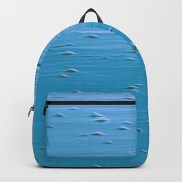 Abstract print in turquoise Backpack