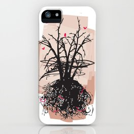 Birds and the Sky iPhone Case
