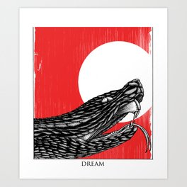 Viper Dream Art Print