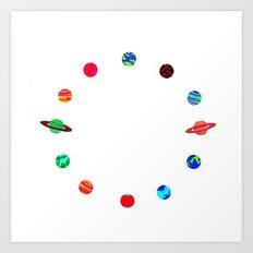 Orbital Tock Art Print