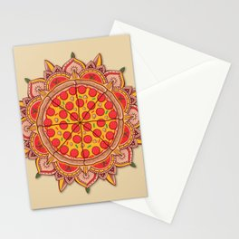 Sacred Pizza Stationery Cards
