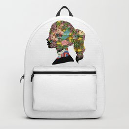 Flowery Girl Backpack
