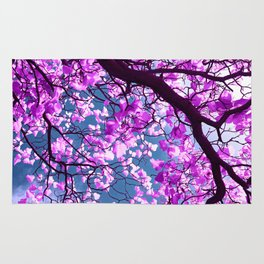 purple tree XIX Rug