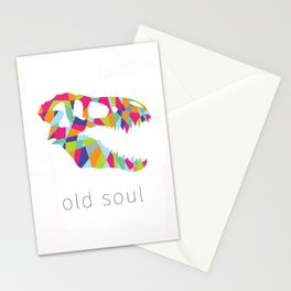 Old Soul Dino Stationery Cards