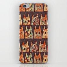 cat-70 iPhone & iPod Skin