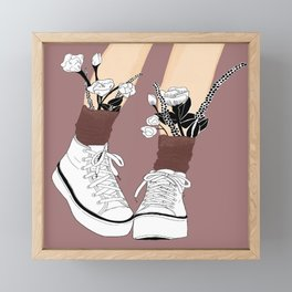 Shoes my style Framed Mini Art Print