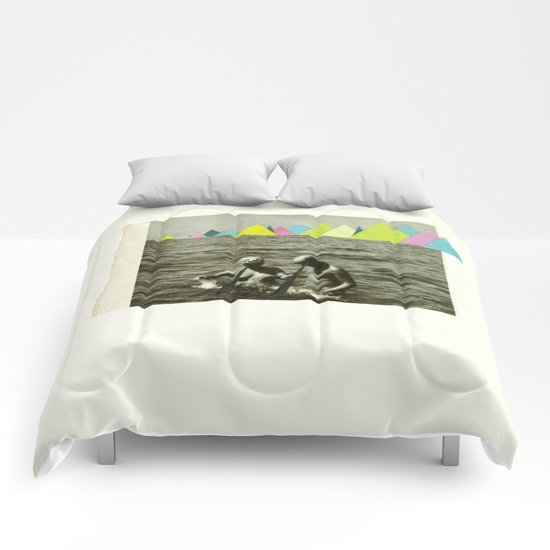 Holiday in the Mountains Comforters