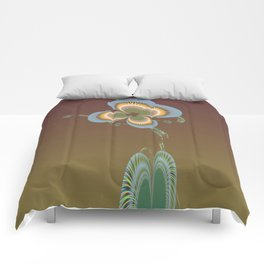 Quirky Flora Comforters