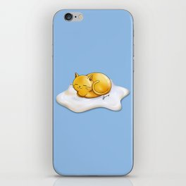 Sunny-side Up Cat iPhone Skin