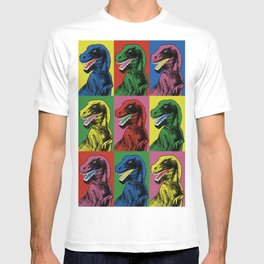 Dinosaur Pop Art T-shirt